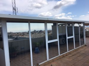 laminas de proteccion solar edificios mallorca